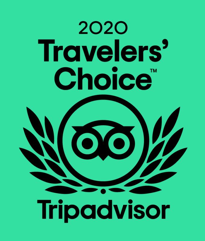 New Hope Mills 2020 Tripadvisor Travlers' Choice award